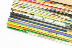 magazynów perspektywy stosu widok Fotografia Stock