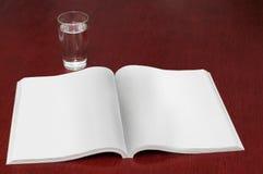 magazyn szklana woda Obraz Stock