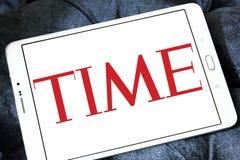 Magazyn TIME logo zdjęcia royalty free