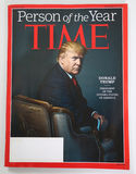 Magazyn TIME osoba roku 2016 zagadnienie z Donald J atut fotografia stock