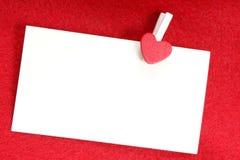 magazynki miłości wiadomość Obrazy Stock