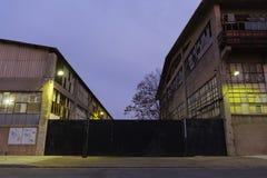Magazynowi budynki fotografia stock