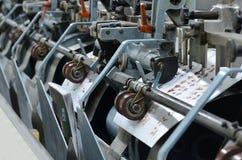 Magazynu wiążący proces po odsadzka druku. Obrazy Stock