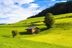 Magazzino alpino Fotografia Stock