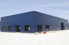 Magazzino in costruzione Fotografia Stock
