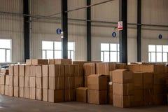 Magazzino dei ricambi auto di Chongqing Minsheng Logistics Baotou Branch Immagine Stock