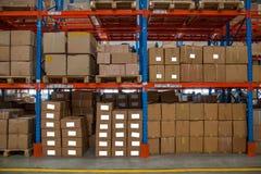 Magazzino dei ricambi auto di Chongqing Minsheng Logistics Baotou Branch Fotografia Stock Libera da Diritti