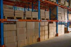 Magazzino dei ricambi auto di Chongqing Minsheng Logistics Baotou Branch Immagine Stock Libera da Diritti
