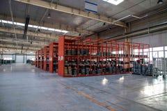 Magazzino dei ricambi auto di Chongqing Minsheng Logistics Baotou Branch Fotografia Stock