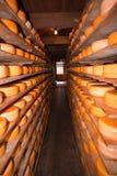 Magazzino del formaggio Immagini Stock Libere da Diritti