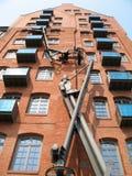 Magazzino della città a Amburgo Immagini Stock Libere da Diritti