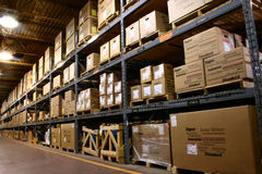 Magazzino della fabbrica Fotografia Stock