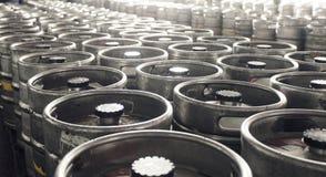 Magazzino della fabbrica di birra Fotografia Stock Libera da Diritti