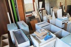 Magazzino della mobilia Immagini Stock Libere da Diritti