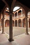 Magazzino di Fugger, palazzo di Fucares, Almagro, Spagna Fotografia Stock Libera da Diritti