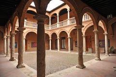 Magazzino di Fugger, palazzo di Fucares, Almagro, Spagna Fotografia Stock