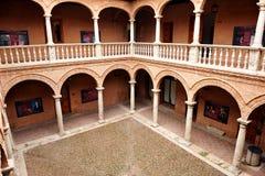 Magazzino di Fugger, palazzo di Fucares, Almagro, Spagna Immagine Stock Libera da Diritti