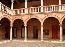 Magazzino di Fugger, palazzo di Fucares, Almagro, Spagna Immagine Stock