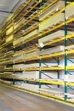 Magazzino di legno Fotografie Stock