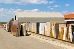 Magazzino di marmo Fotografia Stock