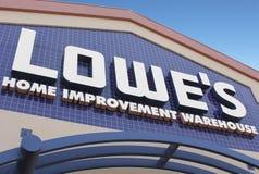 Magazzino di miglioramento domestico del Lowe Immagine Stock