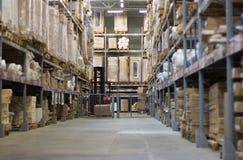 Magazzino industriale fotografia stock libera da diritti