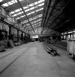 Magazzino industriale Fotografie Stock Libere da Diritti