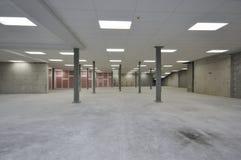 Magazzino vuoto industriale Immagine Stock
