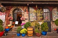 Magda Gessler restaurang i Warszawa arkivfoto
