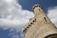 Magdala tower in Aude Royalty Free Stock Photo