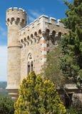 Magdala tower, rennes le chateau city Stock Photos
