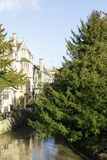 Magdalen Bridge and College, Oxford Royalty Free Stock Images