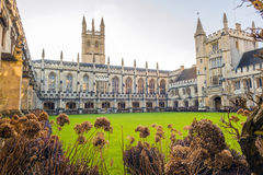 Magdalen college. One of the most prominent Colleges in Oxford University, UK Stock Photos