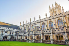 Magdalen college. One of the most prominent Colleges in Oxford University, UK Royalty Free Stock Photography