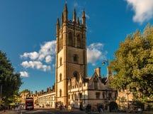 Magdalen College in Oxford royalty-vrije stock afbeeldingen