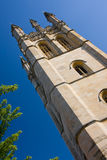 Magdalen College, Oxford. The chapel tower of Magdalen College, Oxford stock photos