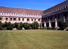 Magdalen College, Oxford. Royalty Free Stock Photo