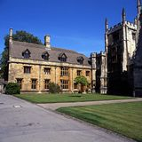 Magdalen College, Oxford. Stock Photography