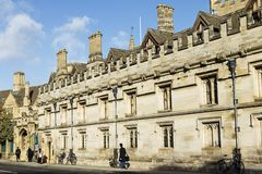 Magdalen College, Oxford Royalty Free Stock Image