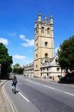 Magdalen Hochschule, Oxford Stockbild