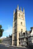 Magdalen Hochschule Oxford Großbritannien Lizenzfreie Stockfotos