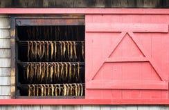 Magdalen Islands fish smokehouse Royalty Free Stock Photos