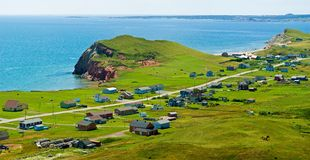 Magdalen Islands, Iles de la Madeleine, Quebec Royalty Free Stock Images