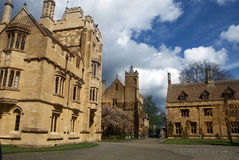 Magdalen's College Royalty Free Stock Images