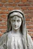 magdalena ・玛丽亚雕象 免版税库存照片