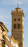 Magdalena Church. Tower church place in the city center of Zaragoza Royalty Free Stock Photos