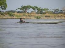 Magdalena flod Arkivfoton