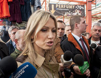 Magdalena Ogorek, candidate for President of the Republic Poland Royalty Free Stock Images