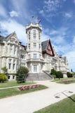 Magdalena pałac w Santander, Hiszpania Obraz Royalty Free