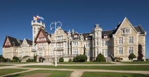 Magdalena pałac w Santander, Cantabria, Hiszpania. Fotografia Stock